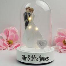 Personalised Wedding Light Up Dome Decoration