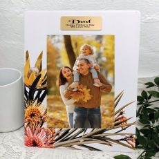 Dad Flourish Moments 5x7 Frame