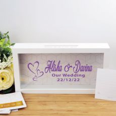 Personalised Wedding Message Box Guest Book