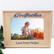 GodFather 5 x 7 Photo Frame with Glitter Print