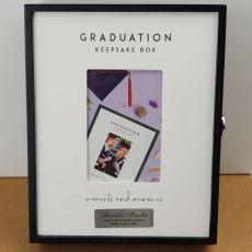 Personalised Graduation Keepsake Box