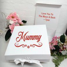 Mum Keepsake Gift Box White
