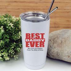 Best Dad Tumbler Travel Mug 600ml