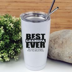 Best Grandpa Tumbler Travel Mug 600ml