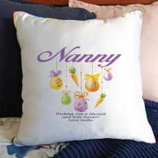 Nana Easter Cushion Cover - Hanging Eggs