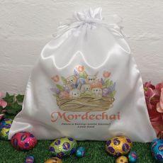Personalised Easter Sack Hunt Bag 35cm  - Easter Basket