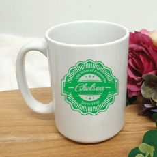 Personalised 100 Years Of Awesome Coffee Mug 15oz