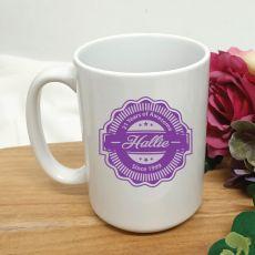 Personalised 21 Years Of Awesome Coffee Mug 15oz