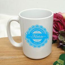 Personalised 70 Years Of Awesome Coffee Mug 15oz