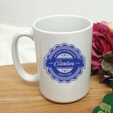 Personalised 90 Years Of Awesome Coffee Mug 15oz