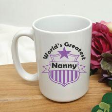 Worlds Greatest Nan Coffee Mug 15oz