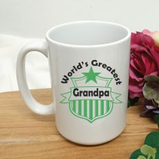 Worlds Greatest Grandpa Coffee Mug 15oz