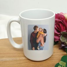Personalised Photo Coffee Mug with Message