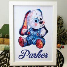 Personalised Framed Nursery Artwork - Toy