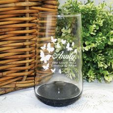 Auntie Engraved Personalised Glass Tumbler
