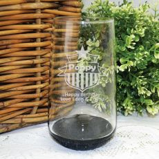 Pop Engraved Personalised Glass Tumbler