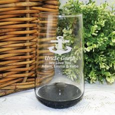 Uncle Engraved Personalised Glass Tumbler