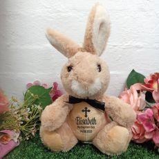 Baptism Bunny Rabbit Plush - Byron