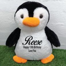 13th Birthday Bear 40cm Pecky Penguin Plush