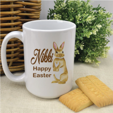 Personalised Easter Coffee Mug - Bunny