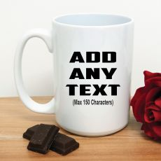 Custom White Coffee Mug - Your Design