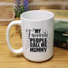 Mums Favourite People Personalised Coffee Mug