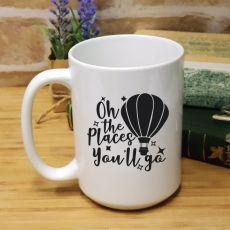 Personalised Graduation Coffee Mug - Place You'll Go