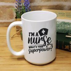 Personalised Nurse Graduation Coffee Mug - Superpower