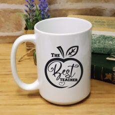 Personalised Teacher White Coffee Mug -Best Teacher