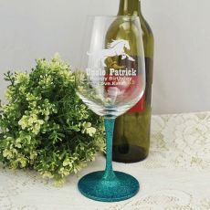 Uncle  Engraved Personalised Wine Glass 450ml